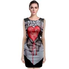 Til Death Classic Sleeveless Midi Dress