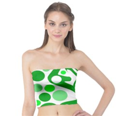 White and green decor Tube Top