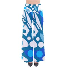 Blue and white decor Pants
