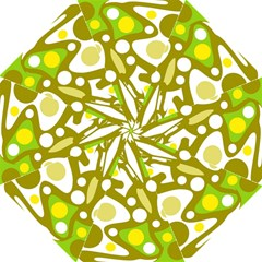 Green and yellow decor Folding Umbrellas
