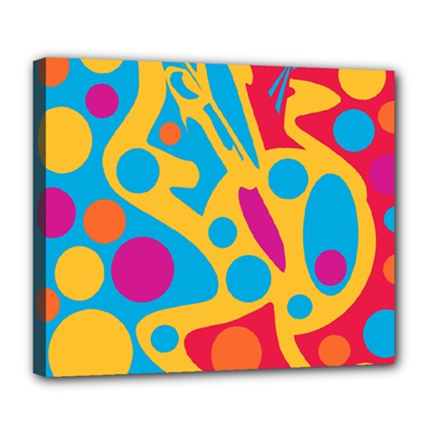 Colorful decor Deluxe Canvas 24  x 20