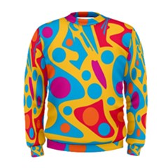 Colorful decor Men s Sweatshirt