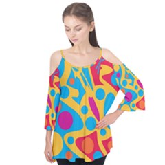 Colorful decor Flutter Tees