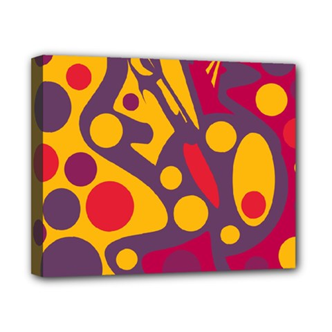 Colorful chaos Canvas 10  x 8