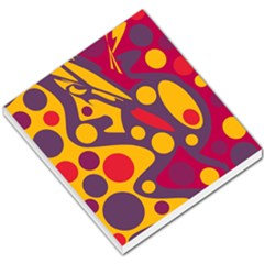 Colorful chaos Small Memo Pads