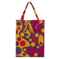 Colorful chaos Classic Tote Bag