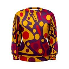 Colorful chaos Women s Sweatshirt