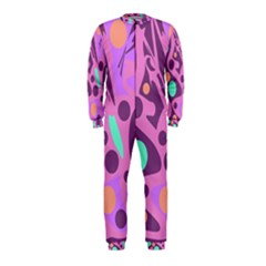 Purple and green decor OnePiece Jumpsuit (Kids)