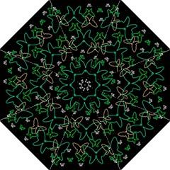 Green butterflies Straight Umbrellas