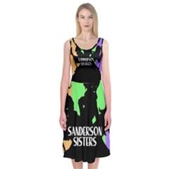 Sanderson Sisters  Midi Sleeveless Dress