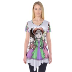 Hocus Pocus Plush Short Sleeve Tunic