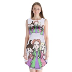 Hocus Pocus Plush Sleeveless Chiffon Dress