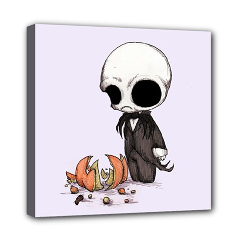 Smashing Pumpkin King  Mini Canvas 8  x 8
