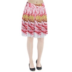 Large Flower Floral Pink Girly Graphic Pleated Skirt