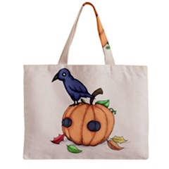 Plushie Fall Zipper Mini Tote Bag