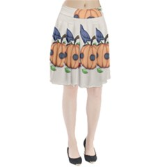Plushie Fall Pleated Skirt
