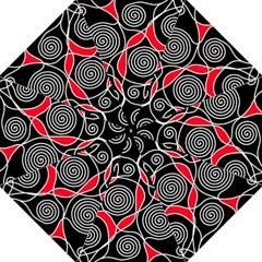 Hypnotic design Straight Umbrellas