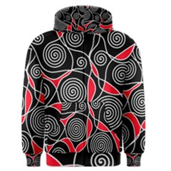 Hypnotic design Men s Zipper Hoodie