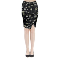 My soul Midi Wrap Pencil Skirt