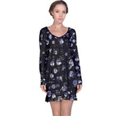 Blue soul Long Sleeve Nightdress