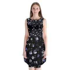 Blue soul Sleeveless Chiffon Dress