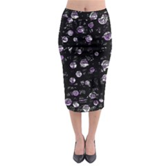 Purple soul Midi Pencil Skirt