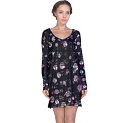 Purple soul Long Sleeve Nightdress