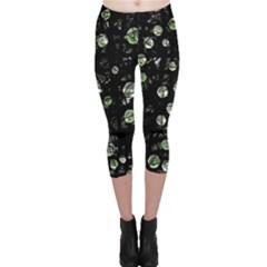 Green soul  Capri Leggings