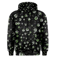 Green soul  Men s Zipper Hoodie