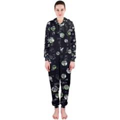 Green soul  Hooded Jumpsuit (Ladies)