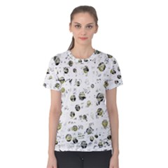 White and yellow soul Women s Cotton Tee