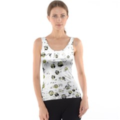 White and yellow soul Tank Top