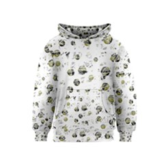 White and yellow soul Kids  Pullover Hoodie
