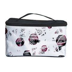 White and red soul Cosmetic Storage Case
