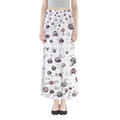 White And Red Soul Maxi Skirts