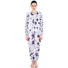 White and blue soul OnePiece Jumpsuit (Ladies)