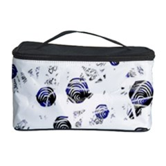 White and deep blue soul Cosmetic Storage Case