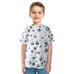 White and green soul Kid s Sport Mesh Tee