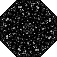 Black And Gray Soul Hook Handle Umbrellas (large)