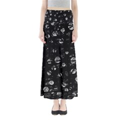 Black And Gray Soul Maxi Skirts