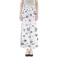 White and gray soul Maxi Skirts