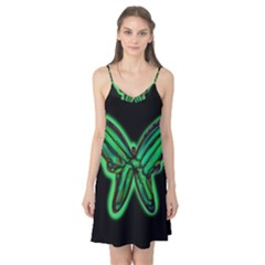 Green neon butterfly Camis Nightgown