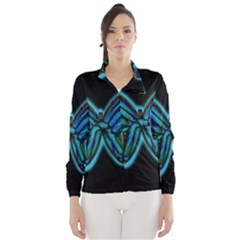 Blue butterfly Wind Breaker (Women)