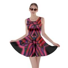 Red butterfly Skater Dress
