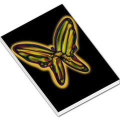 Night butterfly Large Memo Pads