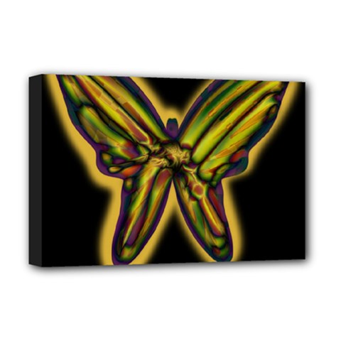 Night butterfly Deluxe Canvas 18  x 12