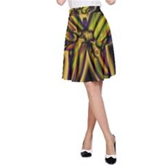 Night butterfly A-Line Skirt