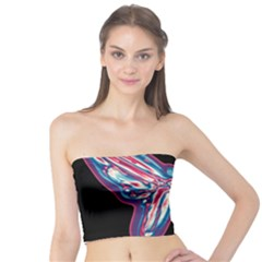 Neon butterfly Tube Top