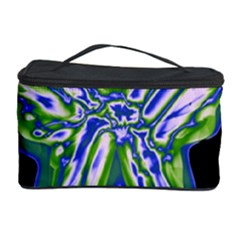 Green neon butterfly Cosmetic Storage Case