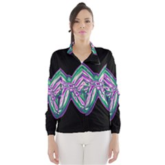 Neon butterfly Wind Breaker (Women)